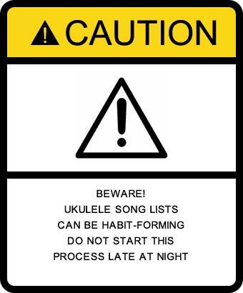 Song Sources | Napa Valley Flea Jumpers